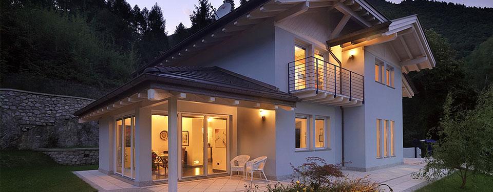 Costruzione di case in legno risparmiare sulla bolletta for Case piccole ma belle